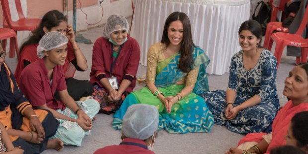 Meghan Markle India 2017